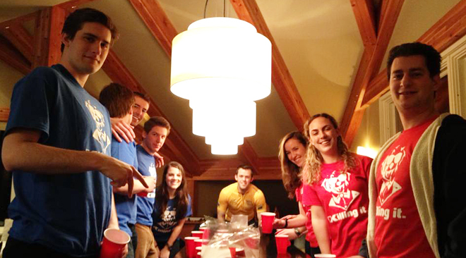 Flip Cup Team Names iron on transfers for Team t shirts
