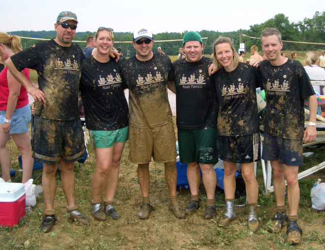 Mud Volleyball Team Names iron on transfers for t shirts