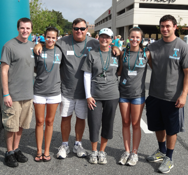Ovarian Cancer Team Names iron on transfers